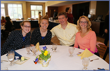 Dean's List Brunch, Homecoming/Family Weekend 2014